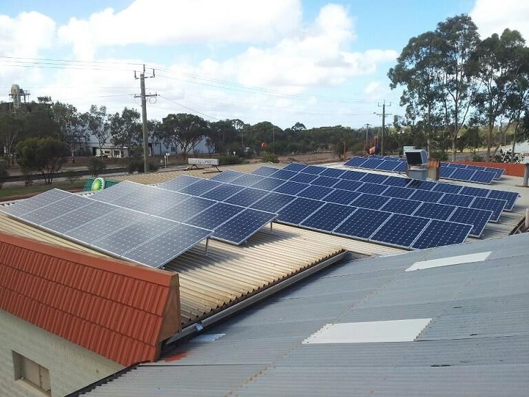 BP Service Station - solar installation