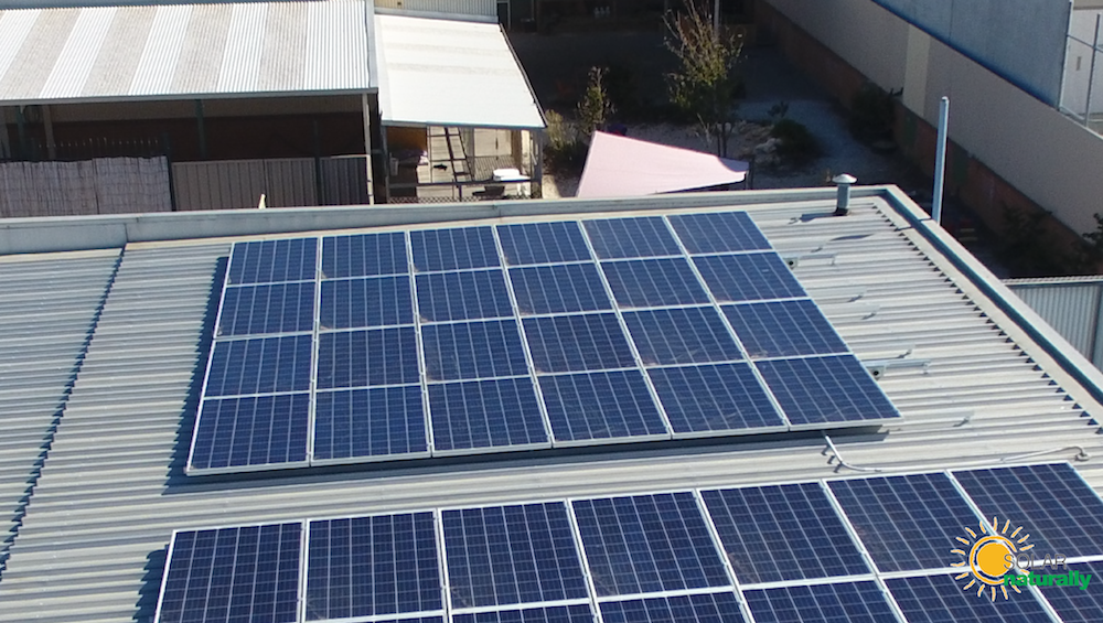 Worldwide Printing Solutions Joondalup (6.48kW) | Solar Naturally ...