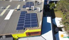 Cranked Coffee Solar Installation